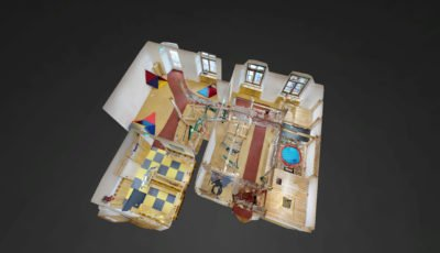 Indoor-Motorikpark Kindergarten Kinkgasse 3D Model