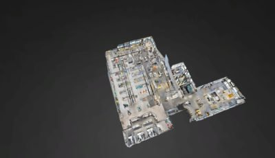 Unser Lagerhaus WHG Klagenfurt 3D Model