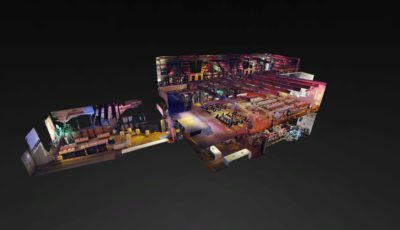 Schleppe Eventhalle 3D Model
